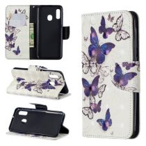 Samsung Galaxy A20e Tok Bankkártyatartóval Notesz Mintás Kitámasztható -RMPACK- Life&Dreams LD09