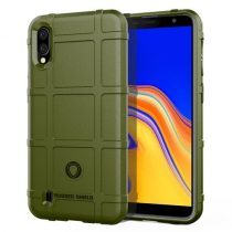 Samsung Galaxy A10 Ütésálló Tok Anti-Shock Series Rugged Shield -RMPACK- KatonaZöld