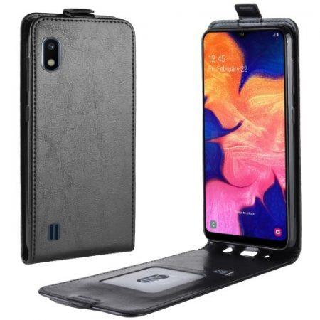 Samsung Galaxy A10 Flip Tok Mágneses Fekete