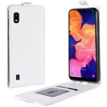 Samsung Galaxy A10 Flip Tok Mágneses Fehér