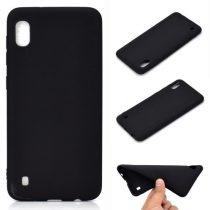 Samsung Galaxy A10 Tok Szilikon Soft Matte Series Fekete