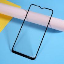 Samsung Galaxy A10 Tempered Glass - Kijelzővédő Üveg - 3D Full - Fekete