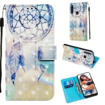 Huawei P Smart Z Tok Bankkártyatartóval Notesz Mintás Kitámasztható -RMPACK- Life&Dreams LD01