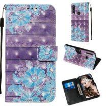 Huawei P Smart Z Tok Bankkártyatartóval Notesz Mintás Kitámasztható -RMPACK- Life&Dreams LD02