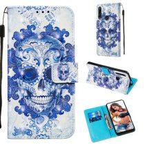 Huawei P Smart Z Tok Bankkártyatartóval Notesz Mintás Kitámasztható -RMPACK- Life&Dreams LD04