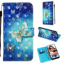 Huawei P Smart Z Tok Bankkártyatartóval Notesz Mintás Kitámasztható -RMPACK- Life&Dreams LD05