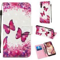 Huawei P Smart Z Tok Bankkártyatartóval Notesz Mintás Kitámasztható -RMPACK- Life&Dreams LD11