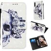Huawei P Smart Z Tok Bankkártyatartóval Notesz Mintás Kitámasztható -RMPACK- Life&Dreams LD12