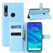 Huawei P Smart Z Notesz Tok Business Series Kitámasztható Bankkártyatartóval Világoskék