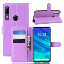 Huawei P Smart Z Notesz Tok Business Series Kitámasztható Bankkártyatartóval Lila