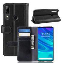 Huawei P Smart Z Bőrtok Notesz Kártyatartóval Kitámasztható Fekete