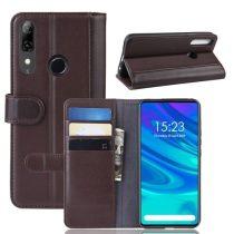 Huawei P Smart Z Bőrtok Notesz Kártyatartóval Kitámasztható Barna