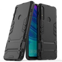 Huawei P Smart Z 2in1 Tok Ütésálló - Kitámasztható TPU Hybrid Fekete