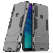 Huawei P Smart Z 2in1 Tok Ütésálló - Kitámasztható TPU Hybrid Szürke