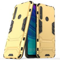 Huawei P Smart Z 2in1 Tok Ütésálló - Kitámasztható TPU Hybrid Arany