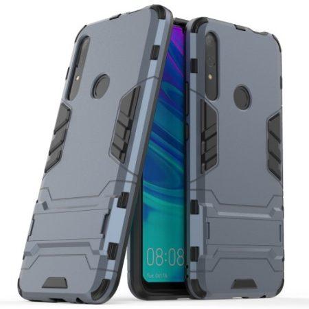 Huawei P Smart Z 2in1 Tok Ütésálló - Kitámasztható TPU Hybrid Sötétkék