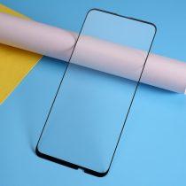 Huawei P Smart Z Tempered Glass - Kijelzővédő Üveg 9D -Full Size- Fekete