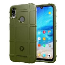 Xiaomi Redmi Note 7 Ütésálló Tok Anti-Shock Series Rugged Shield -RMPACK- KatonaZöld