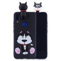 Xiaomi Redmi Note 7 Mintás Szilikon Tok 3D Cuki - Cute Series A01