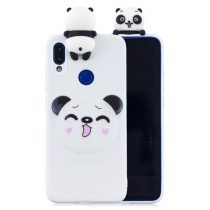 Xiaomi Redmi Note 7 Mintás Szilikon Tok 3D Cuki - Cute Series A02