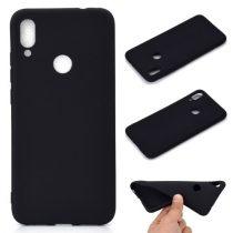 Xiaomi Redmi Note 7 Tok Szilikon Soft Matte Series Fekete