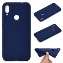 Xiaomi Redmi Note 7 Tok Szilikon Soft Matte Series Sötétkék
