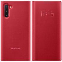 Samsung Galaxy Note 10 Gyári Tok LED View Cover EF-NN970PREGWW Piros