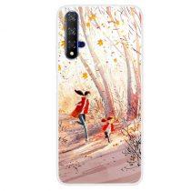 Huawei Honor 20 Szilikon Tok Mintás -RMPACK- Style ColorWords CW003