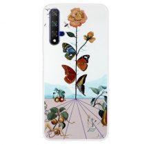 Huawei Honor 20 Szilikon Tok Mintás -RMPACK- Style ColorWords CW004