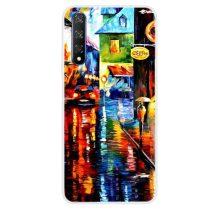 Huawei Honor 20 Szilikon Tok Mintás -RMPACK- Style ColorWords CW005