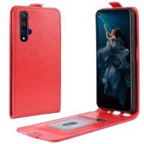 Huawei Honor 20 Flip Tok Mágneses Piros