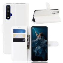Huawei Honor 20 Notesz Tok Business Series Kitámasztható Bankkártyatartóval Fekete