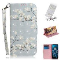 Huawei Honor 20 Tok Bankkártyatartóval Notesz Mintás Kitámasztható -RMPACK- SummerSeries SS07