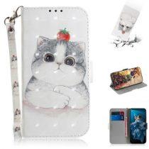 Huawei Honor 20 Tok Bankkártyatartóval Notesz Mintás Kitámasztható -RMPACK- SummerSeries SS10