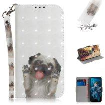 Huawei Honor 20 Tok Bankkártyatartóval Notesz Mintás Kitámasztható -RMPACK- SummerSeries SS12
