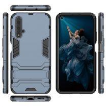 Huawei Honor 20 2in1 Tok Ütésálló - Kitámasztható TPU Hybrid Sötétkék