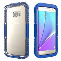 Samsung Galaxy S7 Edge Tok Vizálló / Vízhatlan Waterproof 10M-ig Sötékék