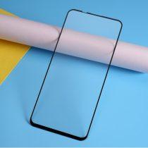 Huawei Honor 20 Tempered Glass - Kijelzővédő Üveg - Full Size- 9D Fekete