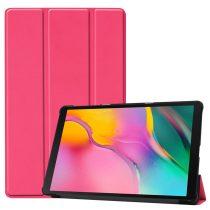 Samsung Galaxy TAB A 10.1 2019 T510 T515 Tok Tri-Fold Notesz Kitámasztható Pink
