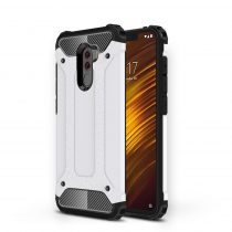 Xiaomi PocoPhone F1 Ütésálló Armor Tok Guard Series 2in1 Fehér