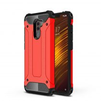 Xiaomi PocoPhone F1 Ütésálló Armor Tok Guard Series 2in1 Piros