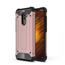 Xiaomi PocoPhone F1 Ütésálló Armor Tok Guard Series 2in1 Rózsaarany