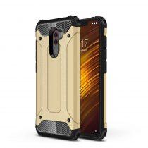 Xiaomi PocoPhone F1 Ütésálló Armor Tok Guard Series 2in1 Arany