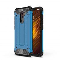Xiaomi PocoPhone F1 Ütésálló Armor Tok Guard Series 2in1 Világoskék