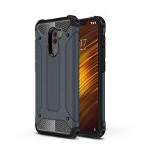 Xiaomi PocoPhone F1 Ütésálló Armor Tok Guard Series 2in1 Sötétkék