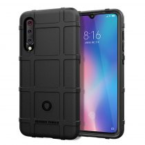 Xiaomi Mi 9 Ütésálló Tok Anti-Shock Series Rugged Shield -RMPACK- Fekete