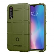 Xiaomi Mi 9 Ütésálló Tok Anti-Shock Series Rugged Shield -RMPACK- KatonaZöld