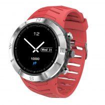 DT08 Okosóra IP67 Smart Watch - Mozgás Állapotok figyelése - Ezüst/Piros