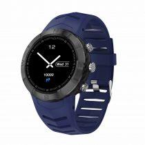 DT08 Okosóra IP67 Smart Watch - Mozgás Állapotok figyelése - Fekete/Kék