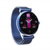 Női Smart Watch - Woman Okosóra R6 Intelligens értesítés, Alvás figyelés - Kék